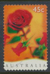 Australia SG 1666  Used - Self Adhesive  - Valentines Day