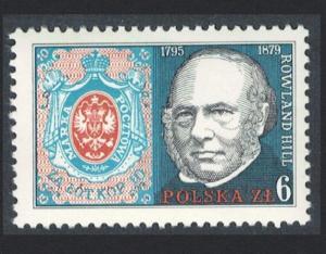 Poland Death Centenary of Sir Rowland Hill SG#2629