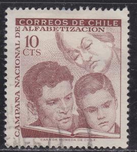 Chile 359 Literacy Campaign 1966