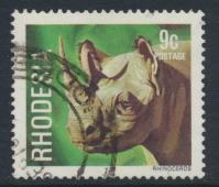 Rhodesia   SG 560 SC# 398  Used Rhinocerous see details