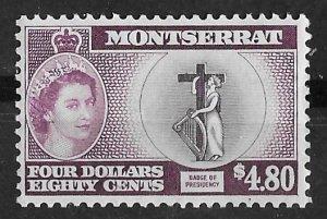 Montserrat # 142 QE II Definitive  $4.80  (1)  Mint NH