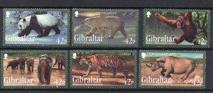 Gibraltar 1284-1289 MNH