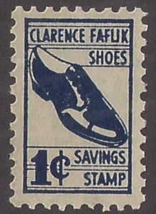 Faflik Shoes: SINGLE, perfed all around, NG TRADING STAMP trademark