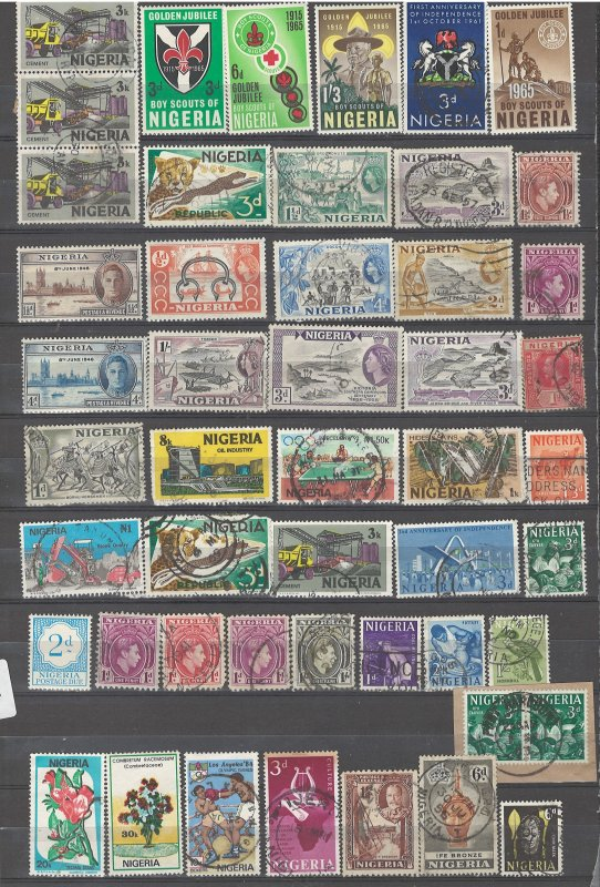 COLLECTION LOT # 32L GB COLONIES IN AFR 98 STAMPS CLEARANCE