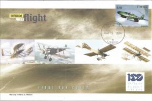 100 Years Of Flight First Day Cover - Messerschmitt Me 262 - 2004 Liberia Z5527