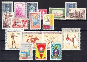 Algeria - Mint NH, nice lot of all complete sets (Catalog Value $44.80)