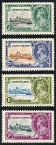 Cayman Is SG108/111 1935 Silver Jubilee set of 4 M/Mint