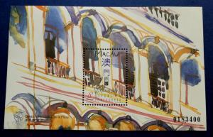 Macau # 892 Verandas Sheet MNH