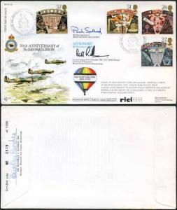 RFDC88 50th Ann Of No.249 Squadron Signed by B.J. Randle and P. Spellward (C)
