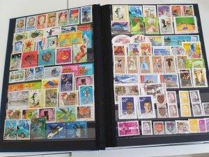 Lot France 103 stamps used/unused