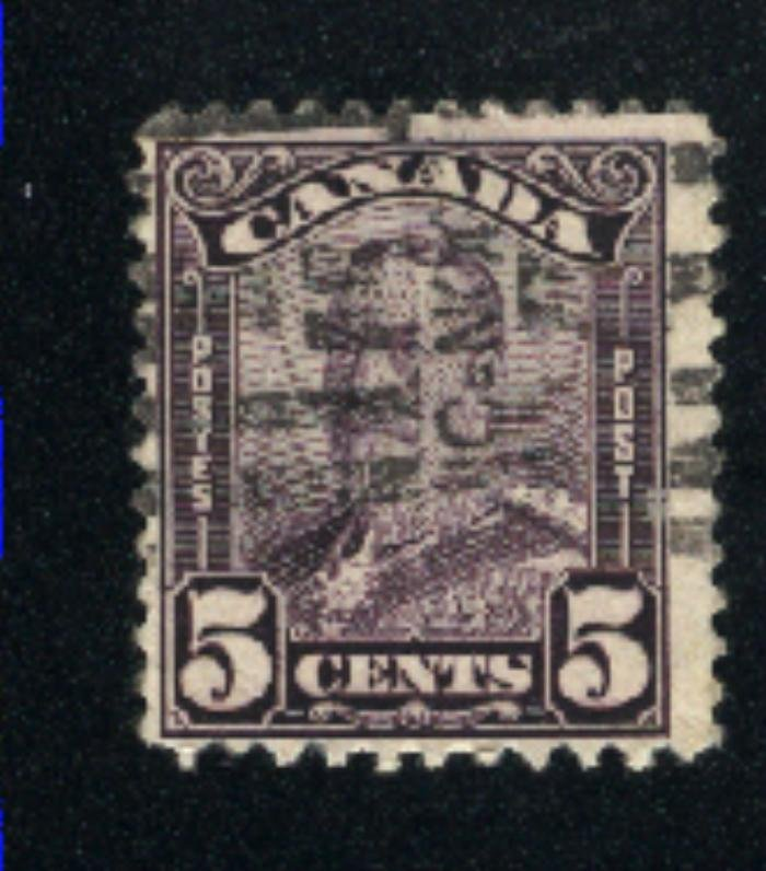 Canada #153   used   VF  PD