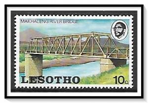 Lesotho #162 Bridges & Rivers MNH