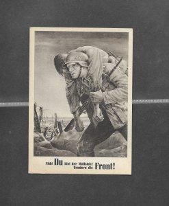 Poland  1943 NSDAP Generalgouvernement   Propaganda Postcard