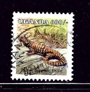 Uganda 1551 Used 1998 Lizard