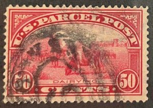 US Stamps #Q10 Used Parcel Post #Q10A143
