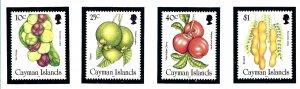 Cayman Is 714-17 MNH 1996 Wild Fruit