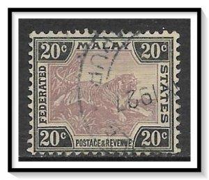 Malaya, Federation #66a Tiger Used