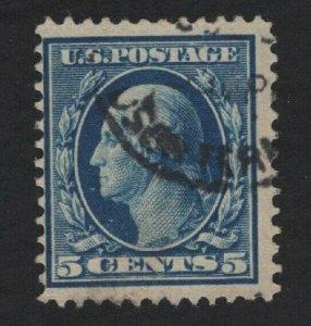 United States USED Scott Number 335  F-VF #P1   - BARNEYS