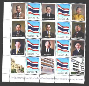 Thailand. 2003. 2217 + kup in a series. Policy flags. MNH.