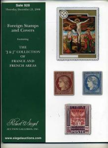 Siegel Foreign Stamp  Sale of France and French Areas