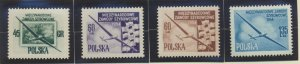 Poland Stamps Scott #624 To 627, Mint Never Hinged - Free U.S. Shipping, Free...