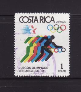 Costa Rica 304 U Sports, Olympics (B)