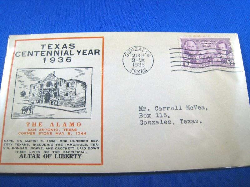 U.S. FDC - SCOTT # 776 -  TEXAS