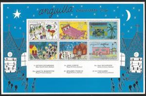 Anguilla #270a MNH Souvenir Sheet of 6