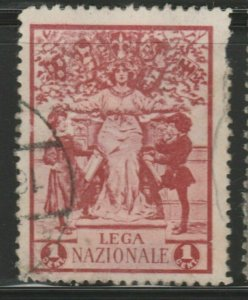 Italy Laga Nazionale Cinderella Poster Stamp Reklamemarken A7P4F793