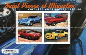 Scott #1091 American Muscle Cars S/S MNH