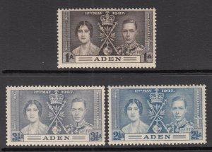 Aden 13-15 MNH VF