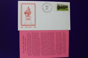 MAVEX Sta Youngstown PA 1968 Volney Rogers Memorial Philatelic Expo Cachet Cover