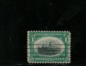 USA #294a Very Fine Used Center Inverted - Well Repaired (See Certificate)