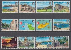 Alderney 1-12 MNH VF