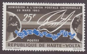 Burkina Faso 131 Universal Postal Union 1964