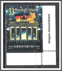 Marshall Islands #753 German Unity MNH