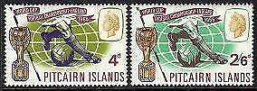 HERRICKSTAMP PITCAIRN ISLANDS Sc.# 60-61 Soccer Cup