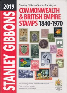 2019 Stanley Gibbons Commonwealth & British Empire Stamps, 1840-1970