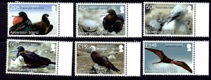 Ascension 1093-98 MNH 2013 Birds