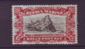 J21547 Jlstamps 1918 san marino a hv of set mh #b11 view