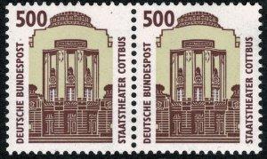 GERMANY 1987-96 500 pf TOURIST SIGHTS PAIRS STAMP(S)SG2220b MINT (NH) SUPERB
