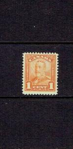 CANADA 1928 ONE CENT KING GEORGE V SCROLL ISSUE - SCOTT 149 -  MNH