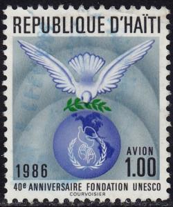 Haiti - 1986 - Scott #833 - used - UNESCO