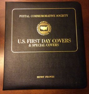 US 1981-82 FDCs in the Special Album ,Collection of 21 Covers ,VF !!!