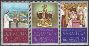 Bermuda #347-9  MNH   (S3510)