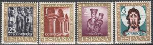 Spain #1004-7 MNH F-VF CV $2.50 (S6L)