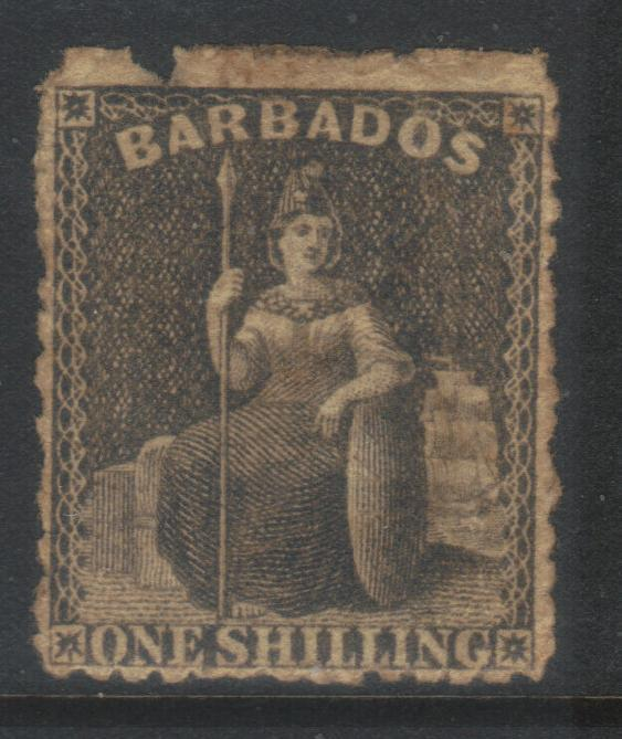 BARBADOS 1871 SMALL STAR SG51 USED CAT £18