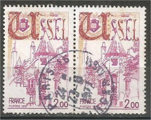 FRANCE, 1976 used 2fr, Ussel, Scott 1473
