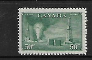 CANADA, 294, MINT HINGED, OILD WELLS, ALBERTA