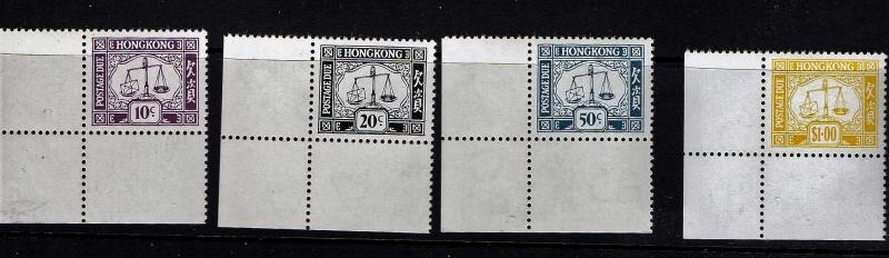 1976 Hong Kong Postage Dues MNH Superb